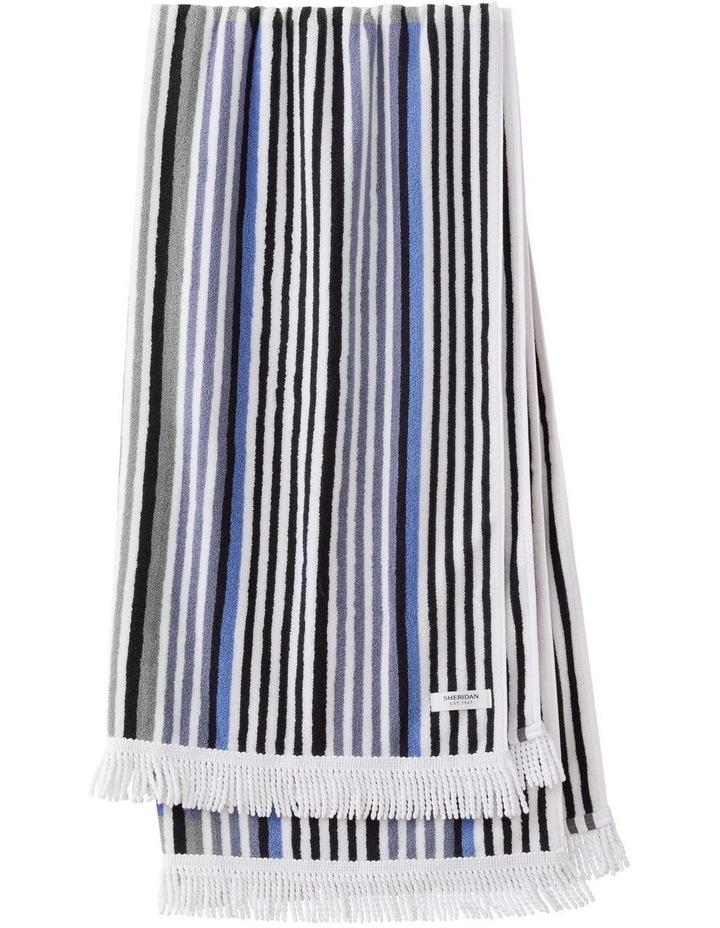 Portview Beach Towel in Midnight image 1