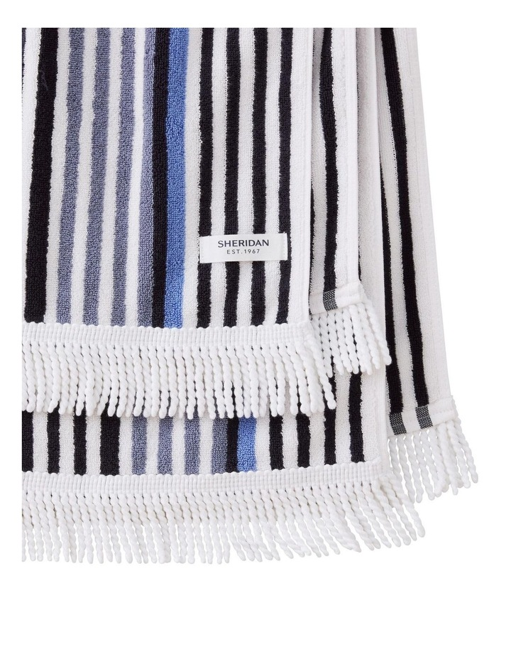 Portview Beach Towel in Midnight image 2