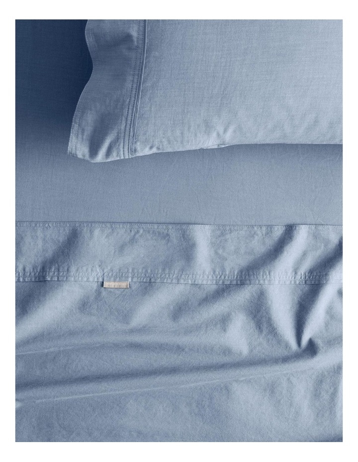 Reilly Fitted Sheet in Chambray image 1