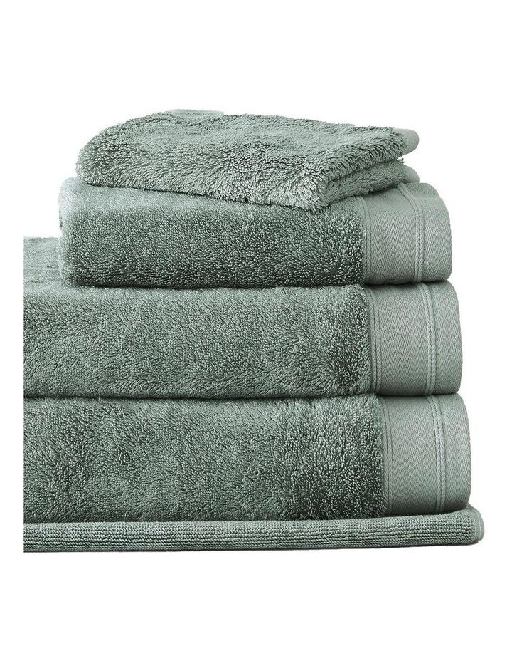 Supersoft Luxury Towel Range in Slate Green image 2