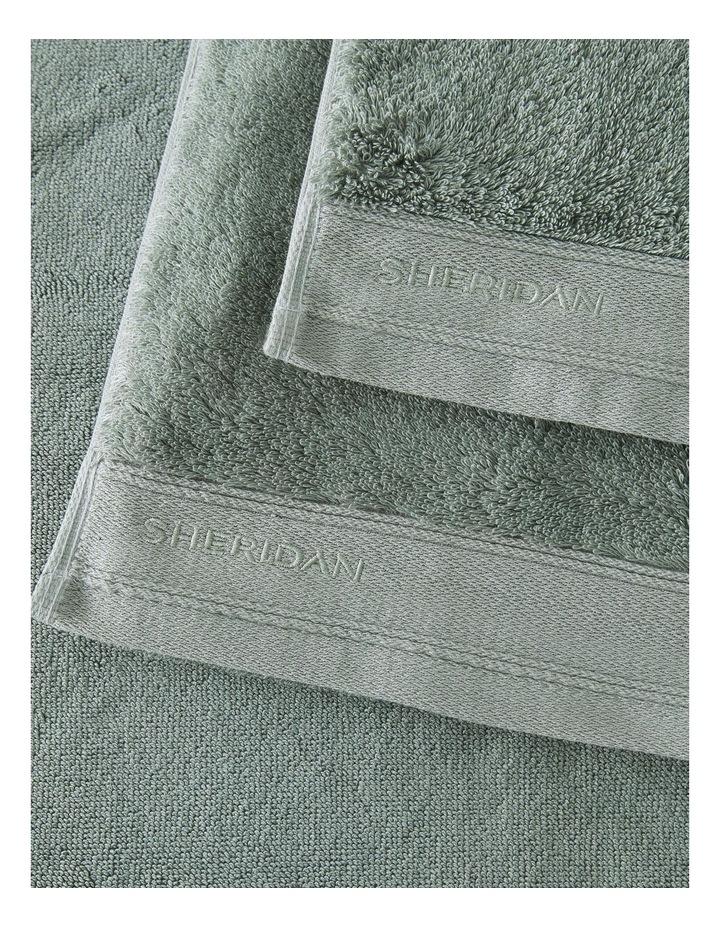 Supersoft Luxury Towel Range in Slate Green image 3