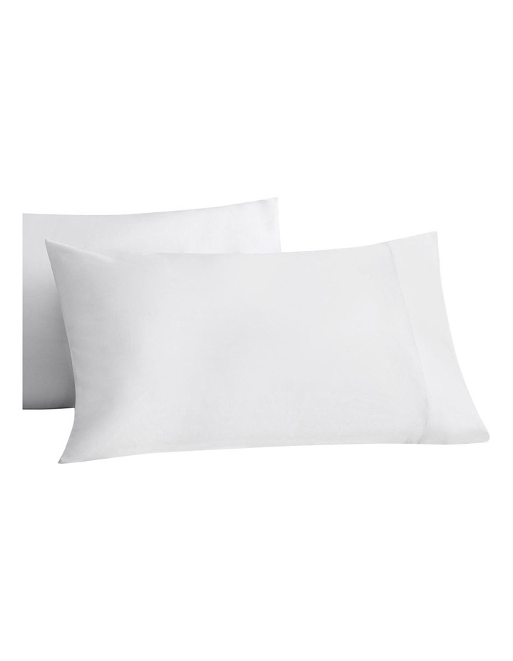 Tencel X Refibra Technology King Sheet Set in White image 3