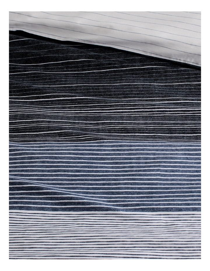 Baynes Quilt Cover Set in Charcoal image 2