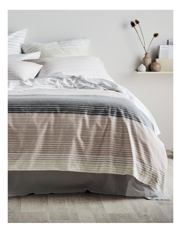 Baynes Quilt Cover Set in Buttermilk image 1