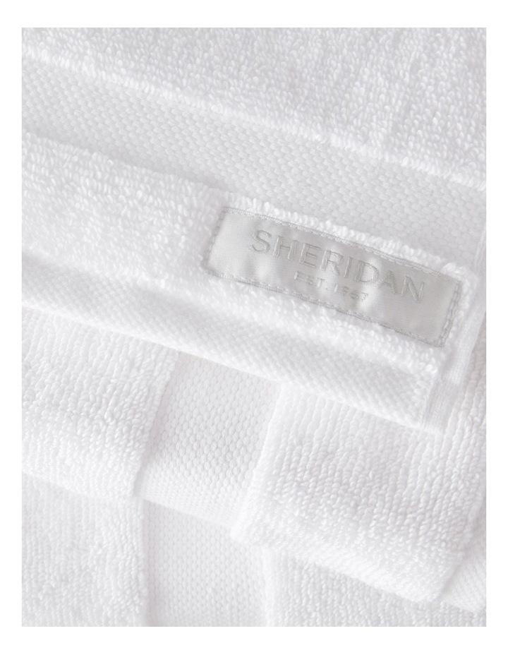 Organic Cotton Eden Towel Range in White image 2