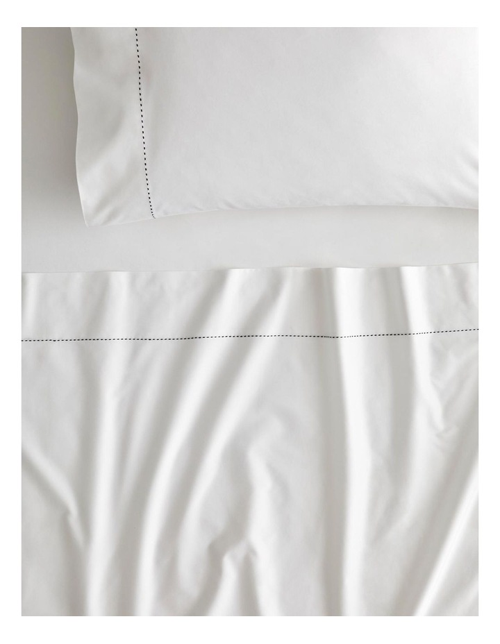Garrow Bed Linen Collection in Snow image 1