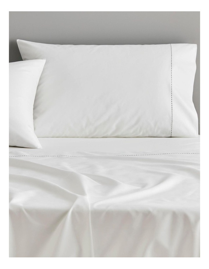 Garrow Bed Linen Collection in Snow image 2