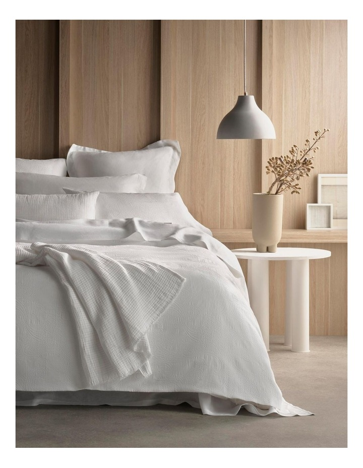 Lyrical Bed Linen Collection In White image 1