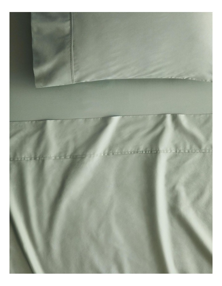 Organic Cotton 400tc Sheet Collection in Mineral Green image 1