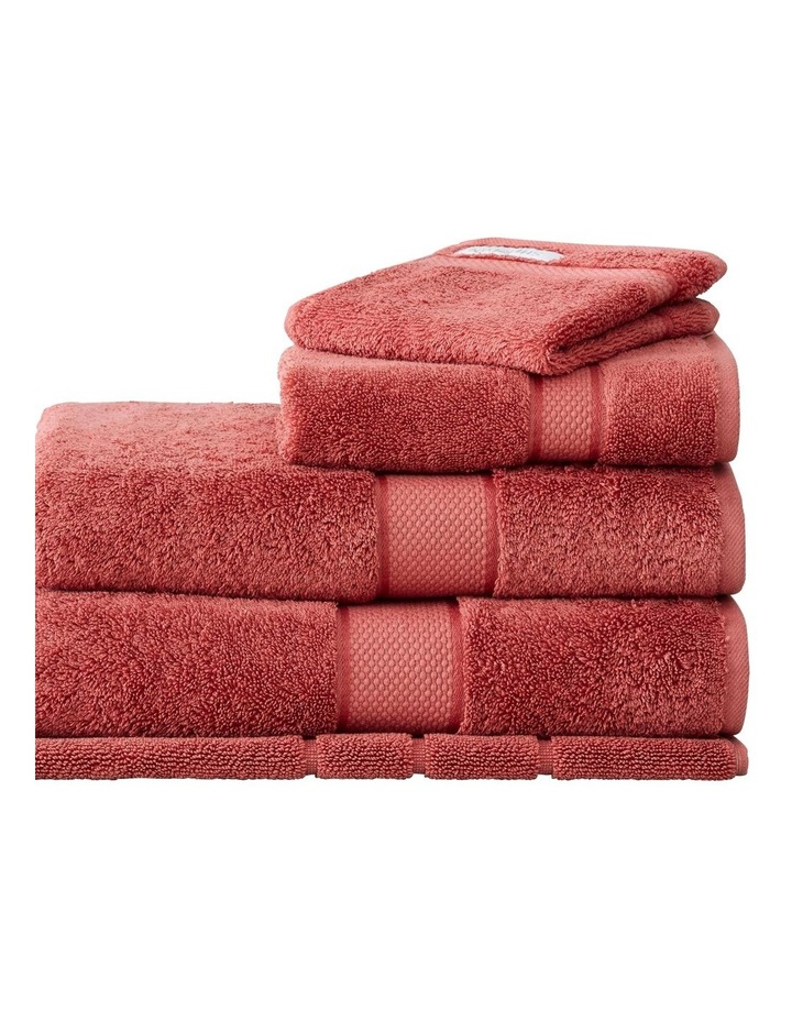 Luxury Egyptian Towel Collection In Raspberry image 1