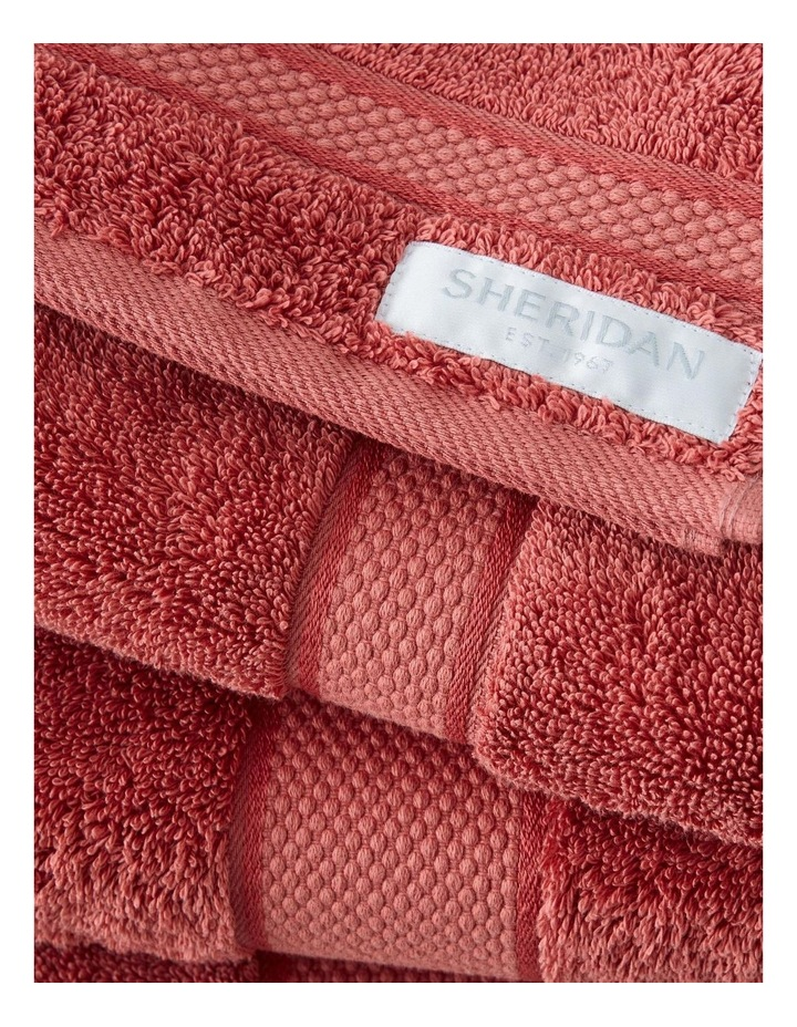 Luxury Egyptian Towel Collection In Raspberry image 2