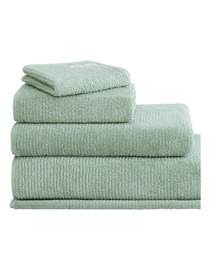Living Textures Towel Collection in Peppermint image 1