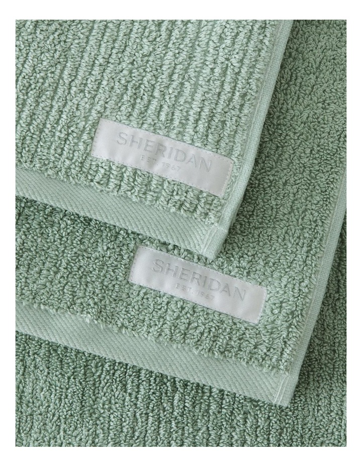 Living Textures Towel Collection in Peppermint image 2
