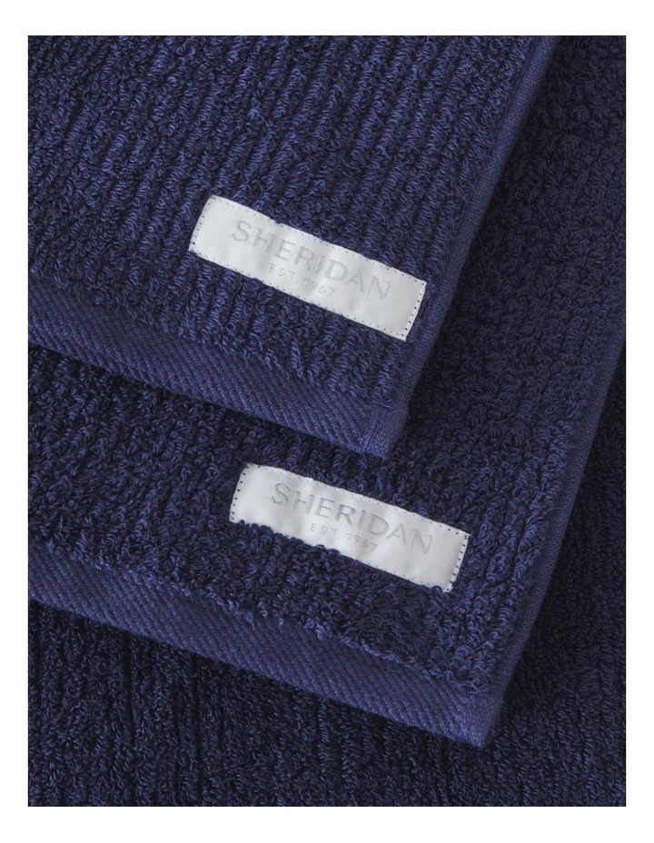 Living Textures Towel Collection In Royal Blue image 2