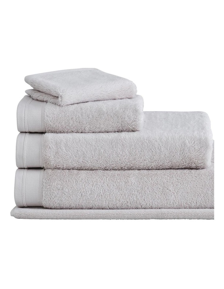 Supersoft Luxury Towel Collection in Pebble image 1