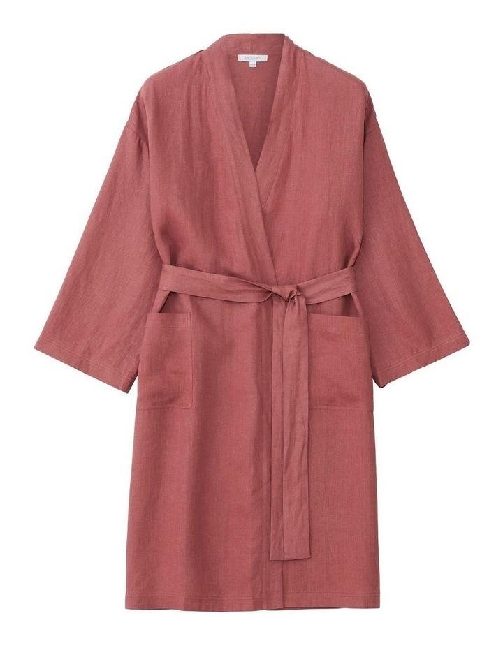 Abbotson Bath Robe  In Marsala image 1