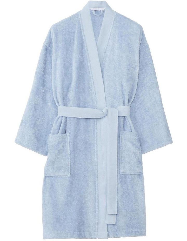 Supersoft Luxury Bath Robe In Surf image 1