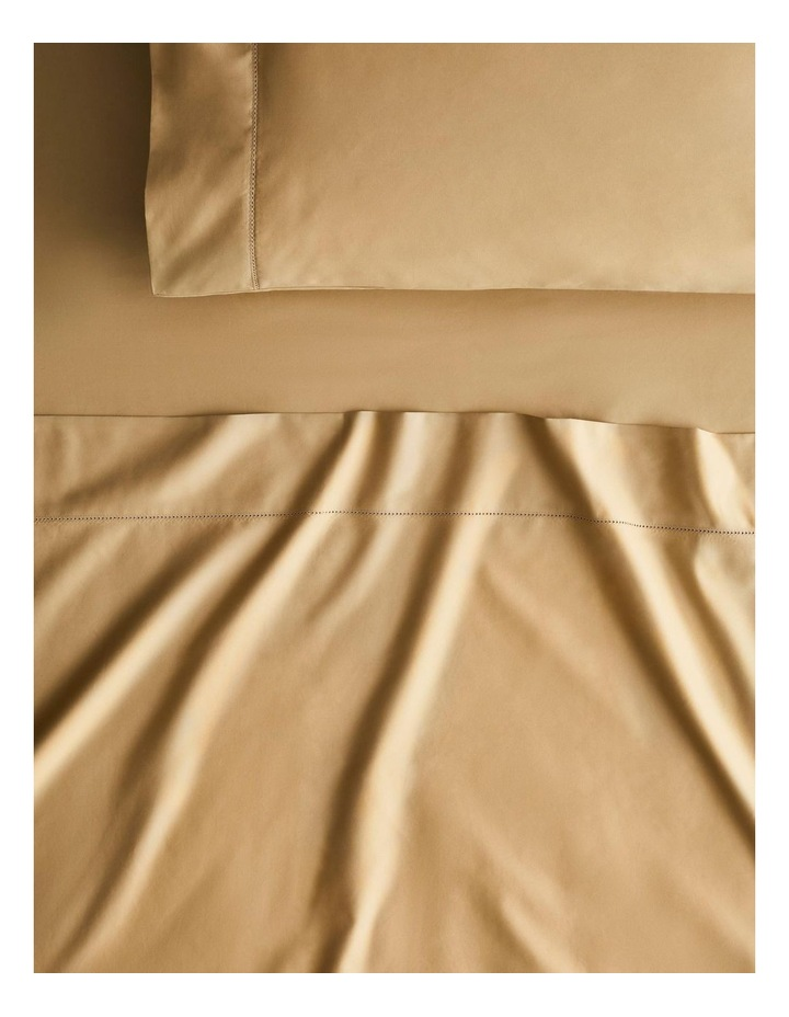 Hotel-Weight Luxury 1000tc Sheet Collection in Gold 40cm image 1