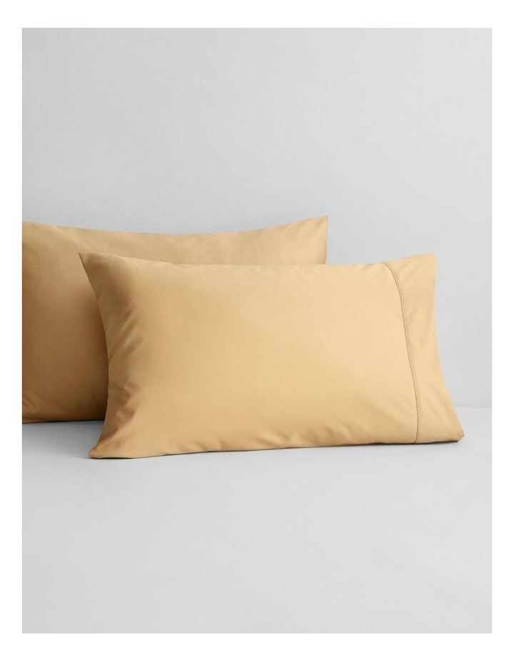 Hotel-Weight Luxury 1000tc Sheet Collection in Gold 40cm image 3