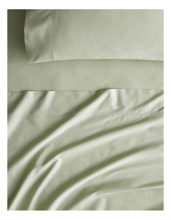 Egyptian Blend 600TC Sateen Sheet Set Collection in Whisper Green image 1