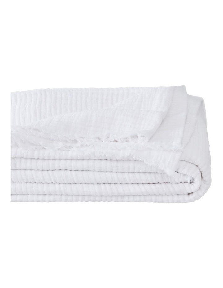 Naville Throw In White image 1