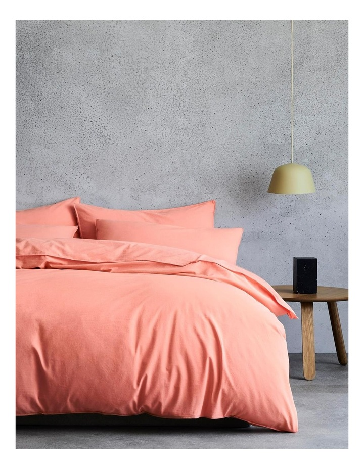 Onslo Bed Linen Collection in Coral Glow image 1