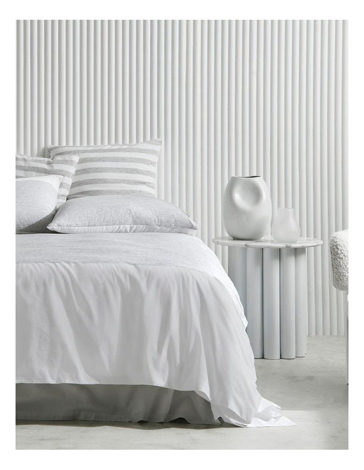 Hayle Bed Linen Collection In Silver image 1