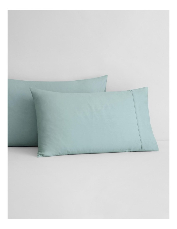 Tencel Lyocell Fibre & Cotton Sheet Collection in Mint Frost image 3