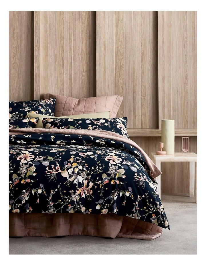 Andorra Bed Linen Collection in Carbon image 1