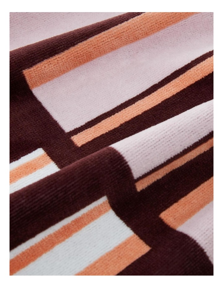 Aquatico Beach Towel in Aubergine image 3