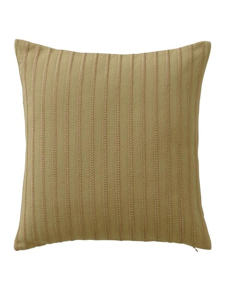 Brammell Square Cushion in Cumin image 1