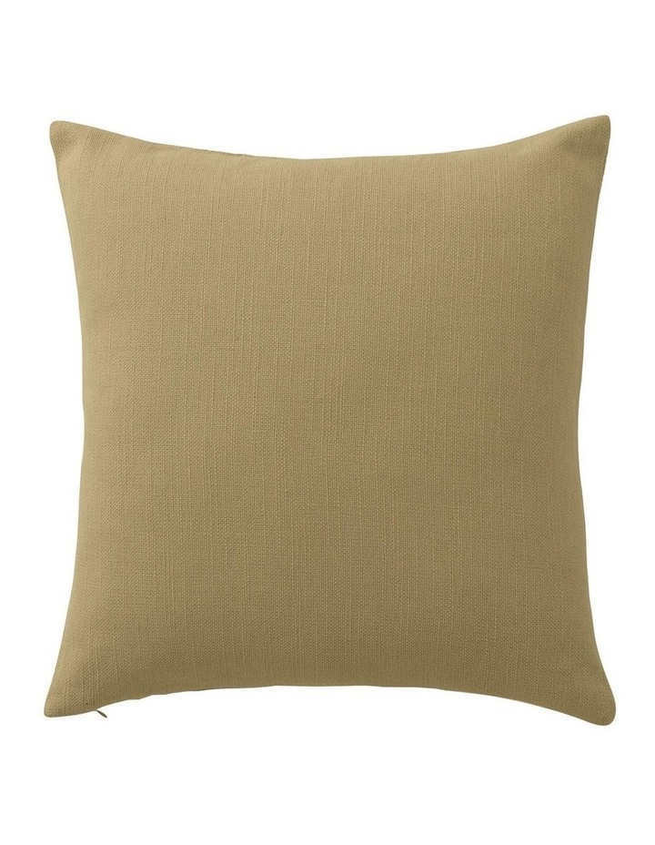 Brammell Square Cushion in Cumin image 2