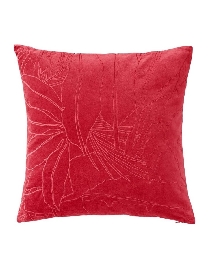 Coltrane Cushion in Cranberry image 1