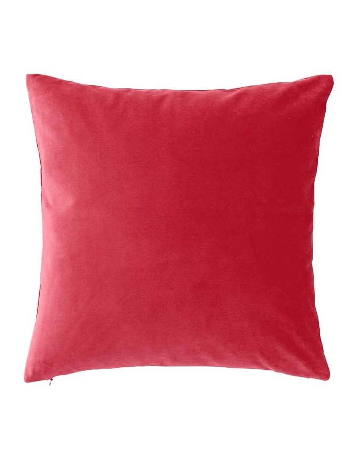 Coltrane Cushion in Cranberry image 2