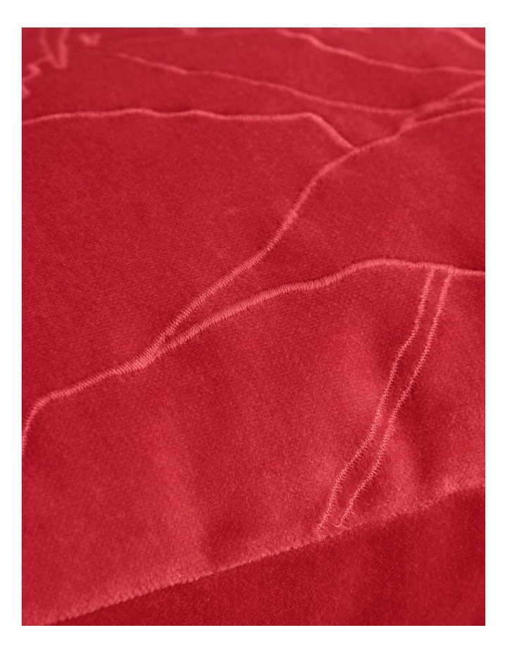 Coltrane Cushion in Cranberry image 3