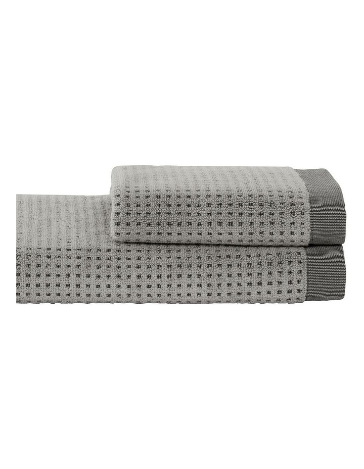 Cyrus Towel Collection In Dust image 1