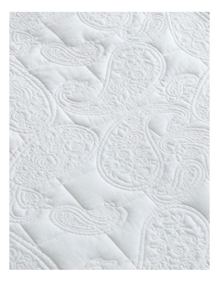 Dalbury Bedcover in White image 2