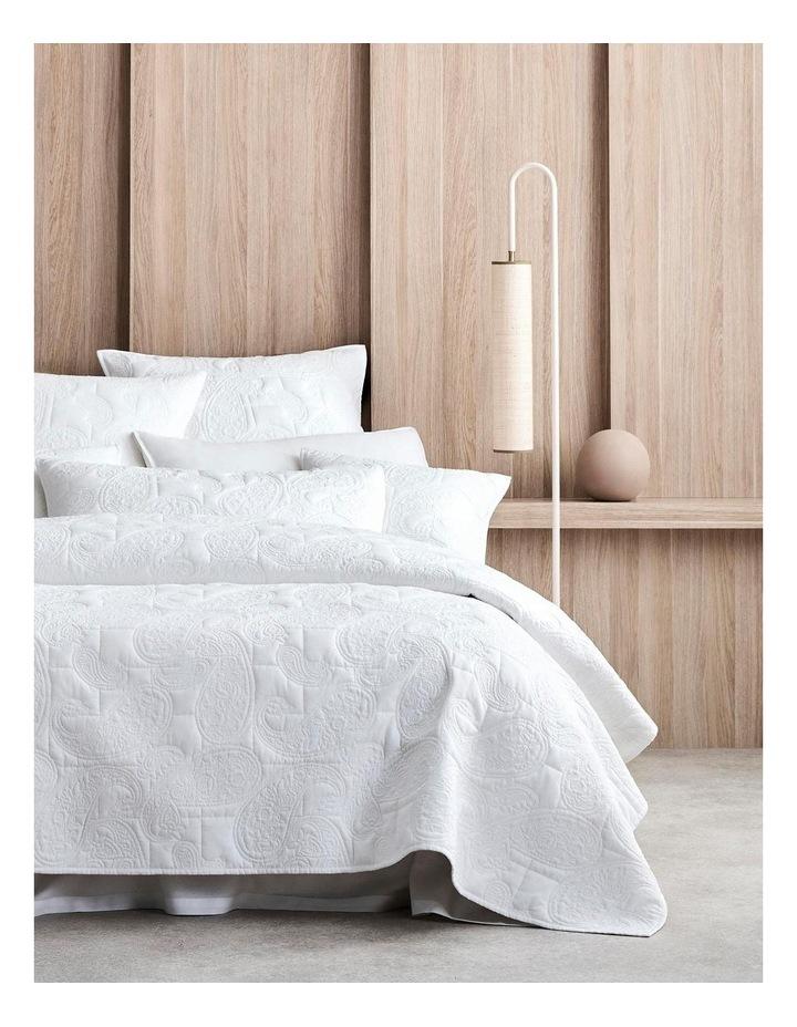 Dalbury Pillowcase in White image 1