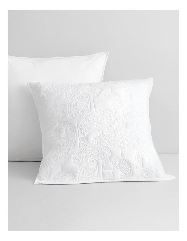 Dalbury Pillowcase in White image 2