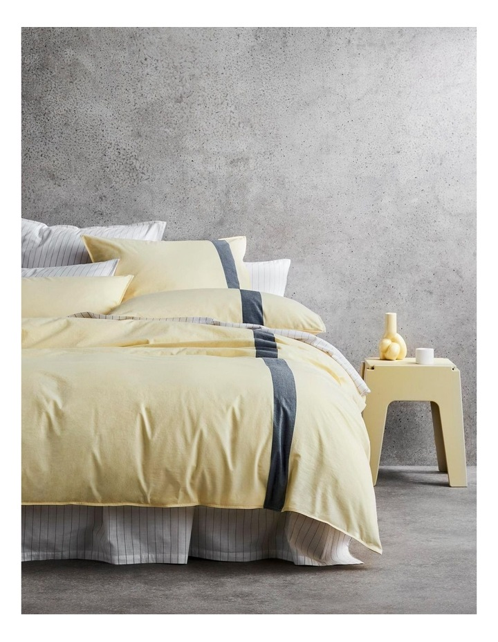 Hanley Bed Linen Collection in Buttercream image 1