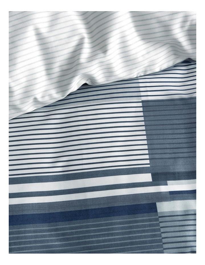 Jesper Quilt Cover Set in Dark Navy image 2