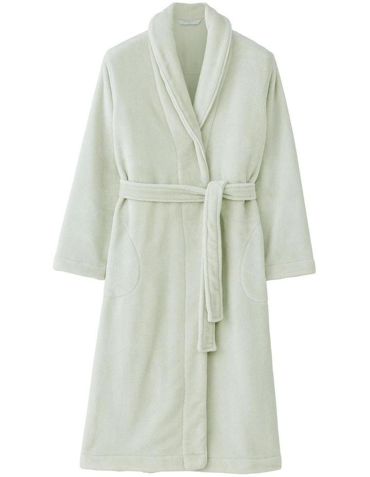 Kerrabee Plush Robe in Pearl image 1