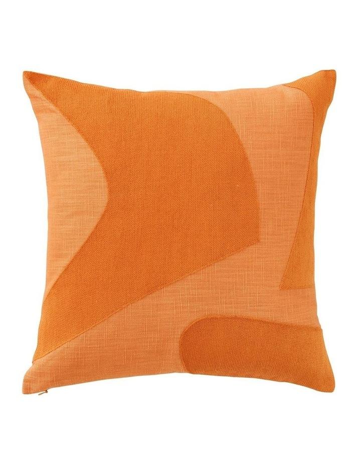Kiaya Square Cushion in Apricot image 1