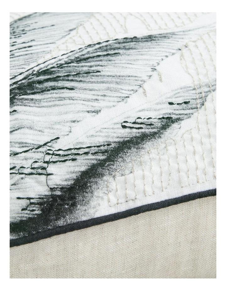 Lovis Square Cushion in Carbon image 3