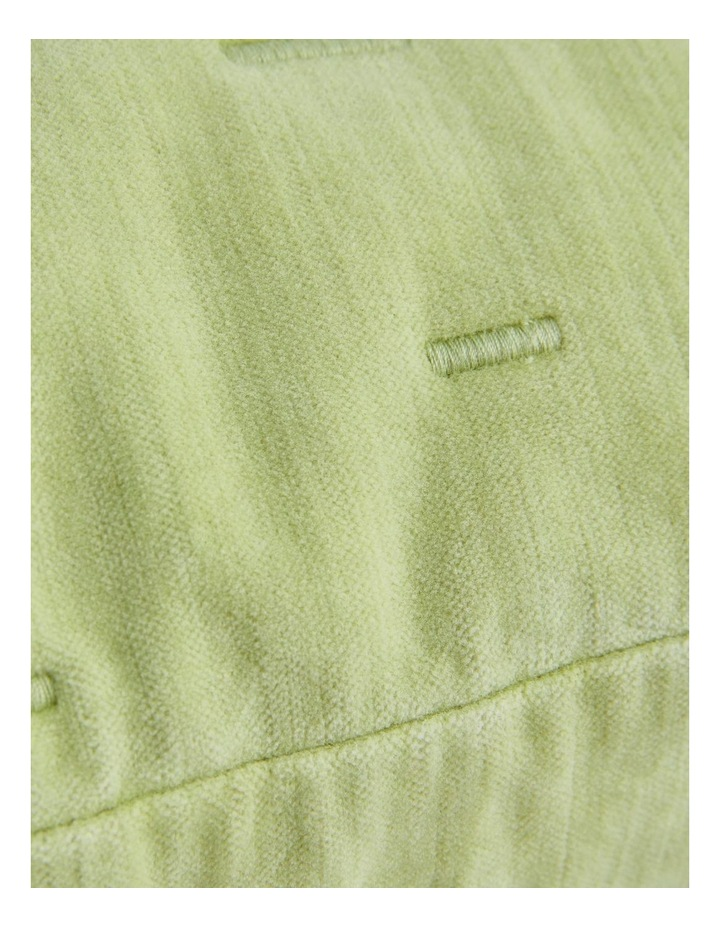 Lysette Cushion In Celery - 45cm X 45cm image 3