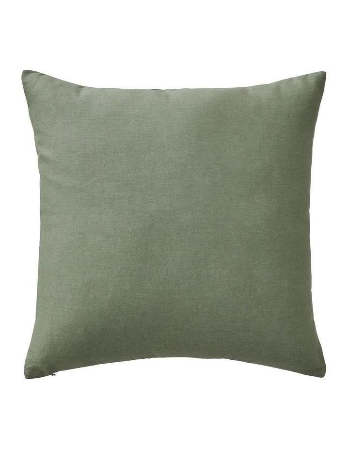 Maner Square Cushion in Nettle image 2
