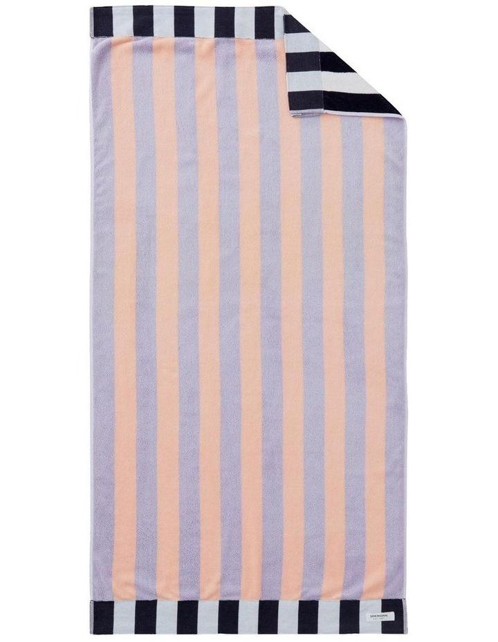 Nautico Beach Towel In Lilac Mist image 1