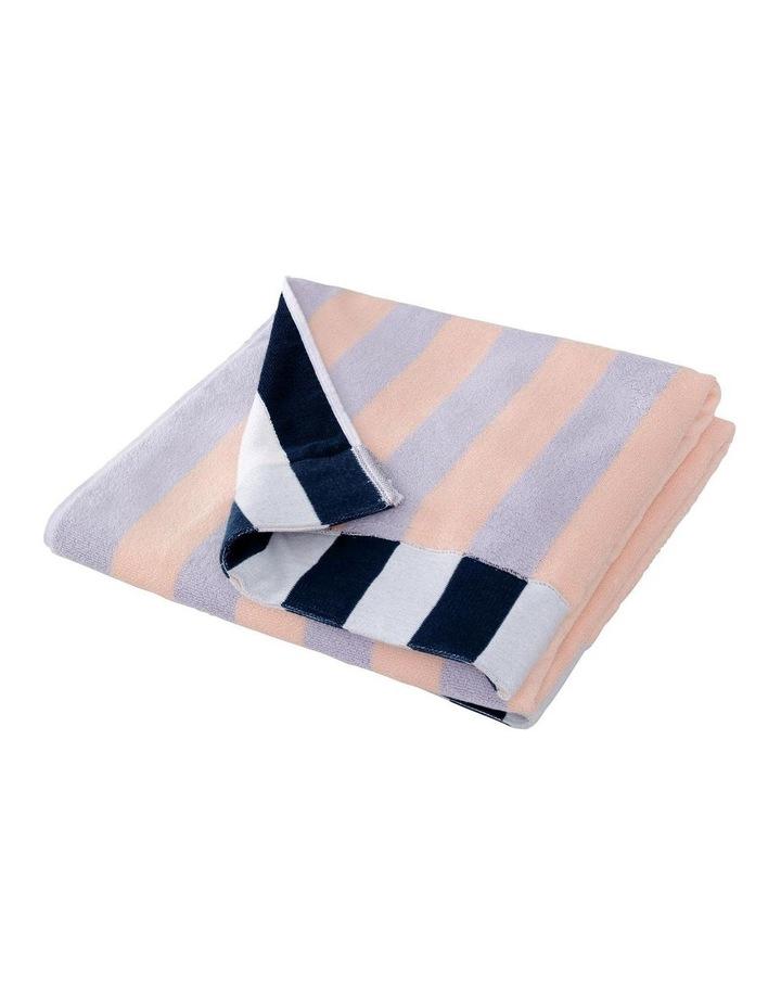 Nautico Beach Towel In Lilac Mist image 2
