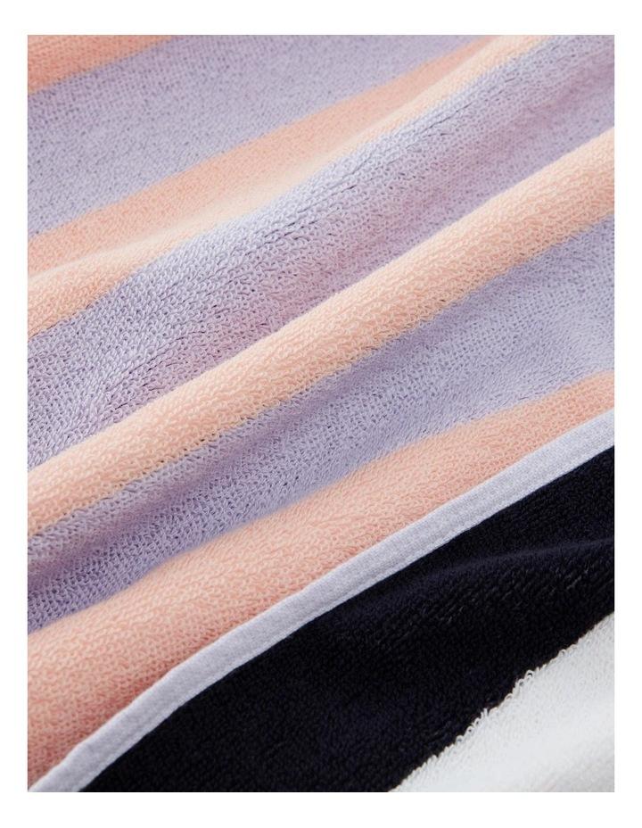 Nautico Beach Towel In Lilac Mist image 3