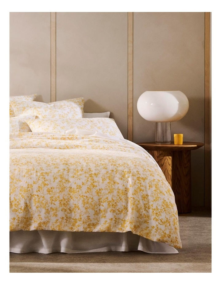 Naves Bed Cover In Mango image 1